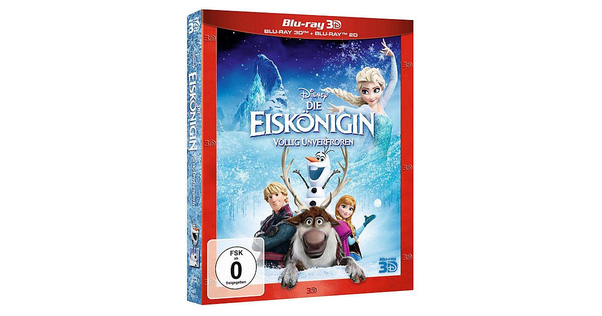 BLU-RAY Die Eiskönigin - völlig unverfroren (3D + 2D Version) Hörbuch
