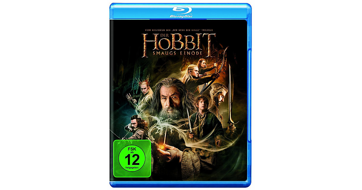 BLU-RAY Der Hobbit: Smaugs Einöde