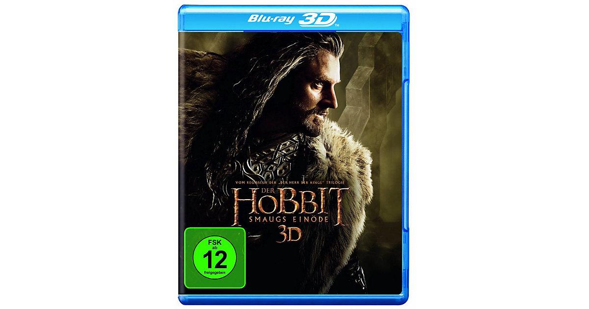 BLU-RAY Der Hobbit: Smaugs Einöde (3D Vers.)