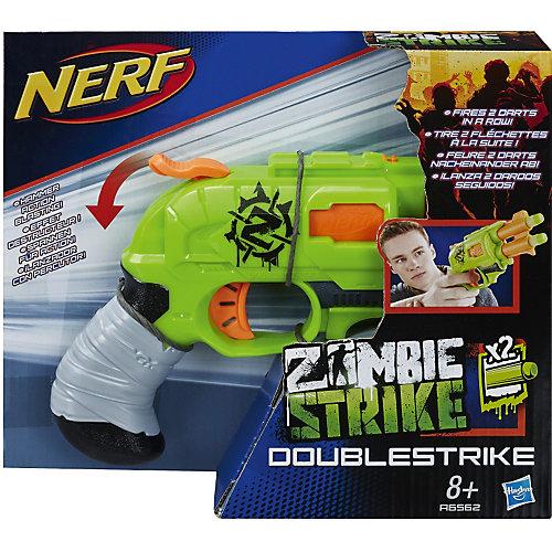 "Бластер Nerf Zombie Strike ""Двойная Атака"" от Hasbro"