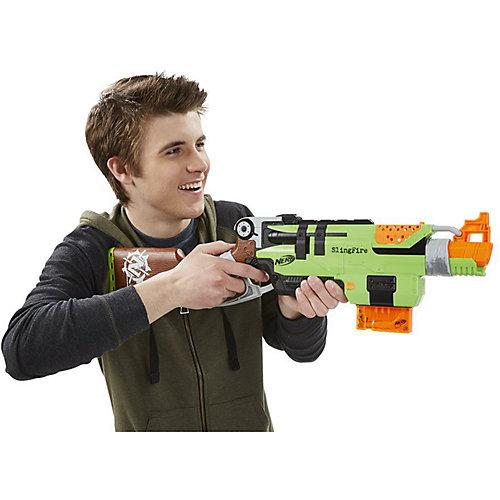 Бластер Nerf Zombie Strike Slingfire от Hasbro