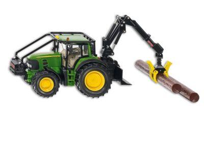 SIKU Farmer 4063 John Deere Forsttraktor 1:32