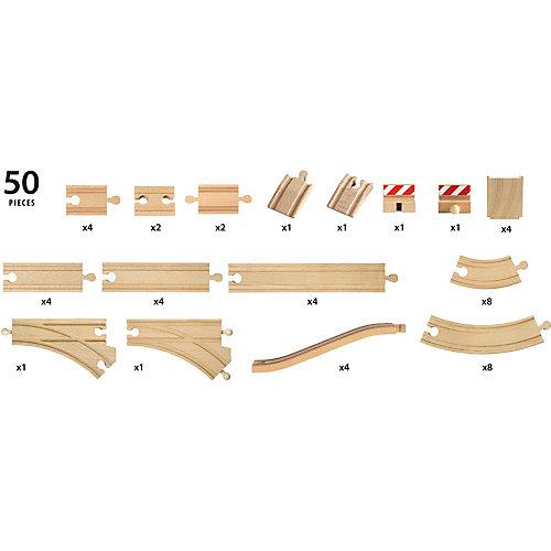 """Игровой набор Brio """"Большой набор деталей для железной дороги"""" от BRIO"""