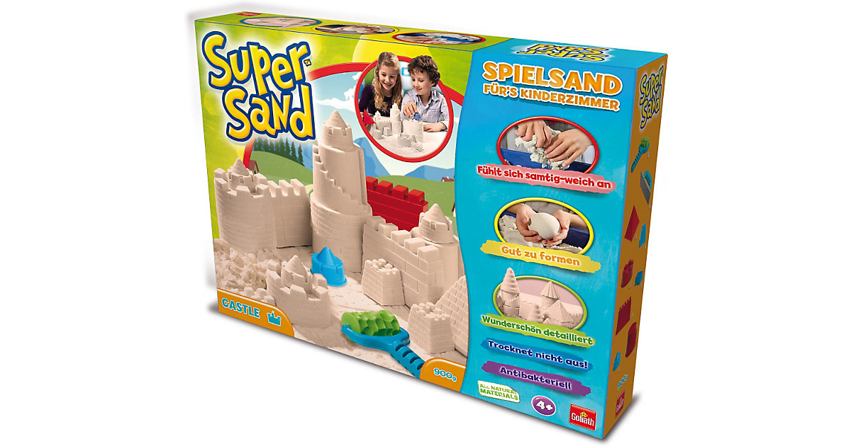 Goliath · Super Sand Spielsand - Sunken Castle