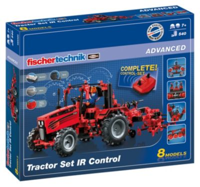Fischertechnik ADVANCED ´´Tractor Set IR Control´´ - Traktor Set mit Fernsteuerung