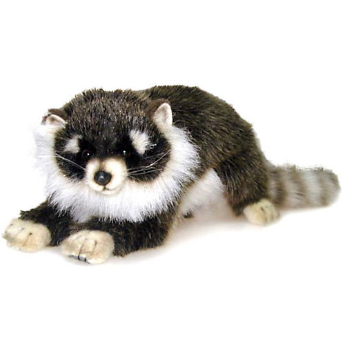 """Мягкая игрушка Hansa """"Лесные животные"""" Енотик лежащий, 34 см от Hansa"""
