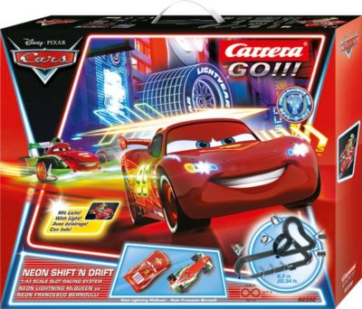 CARRERA GO!!! 20062332 Disney/Pixar - Neon Shift ´n drift, 6,2m