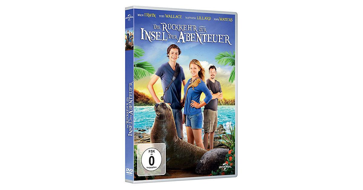 DVD Die Rückkehr zur Insel der Abenteuer