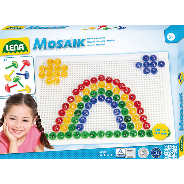 Design Studio Mosaik Transparent, 120-tlg.