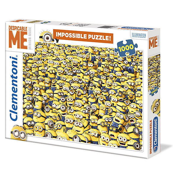 Impossible Puzzle - 1000 Teile - Minions