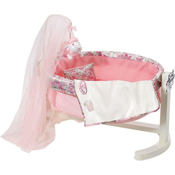 baby annabell puppenwiege mit nachtlicht puppenbett zapf. Black Bedroom Furniture Sets. Home Design Ideas