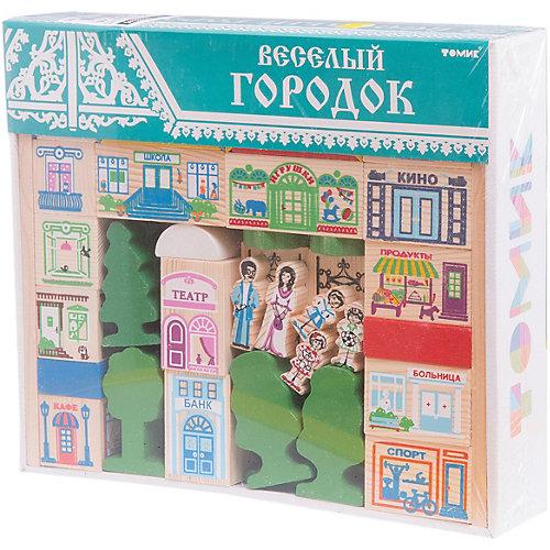 """Конструктор  """"Веселый городок"""", 56 деталей,  Томик от Томик"""
