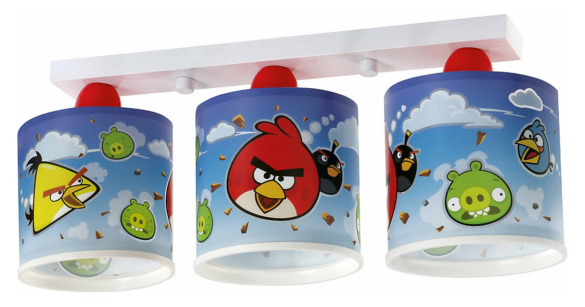 deckenlampe angry birds. Black Bedroom Furniture Sets. Home Design Ideas