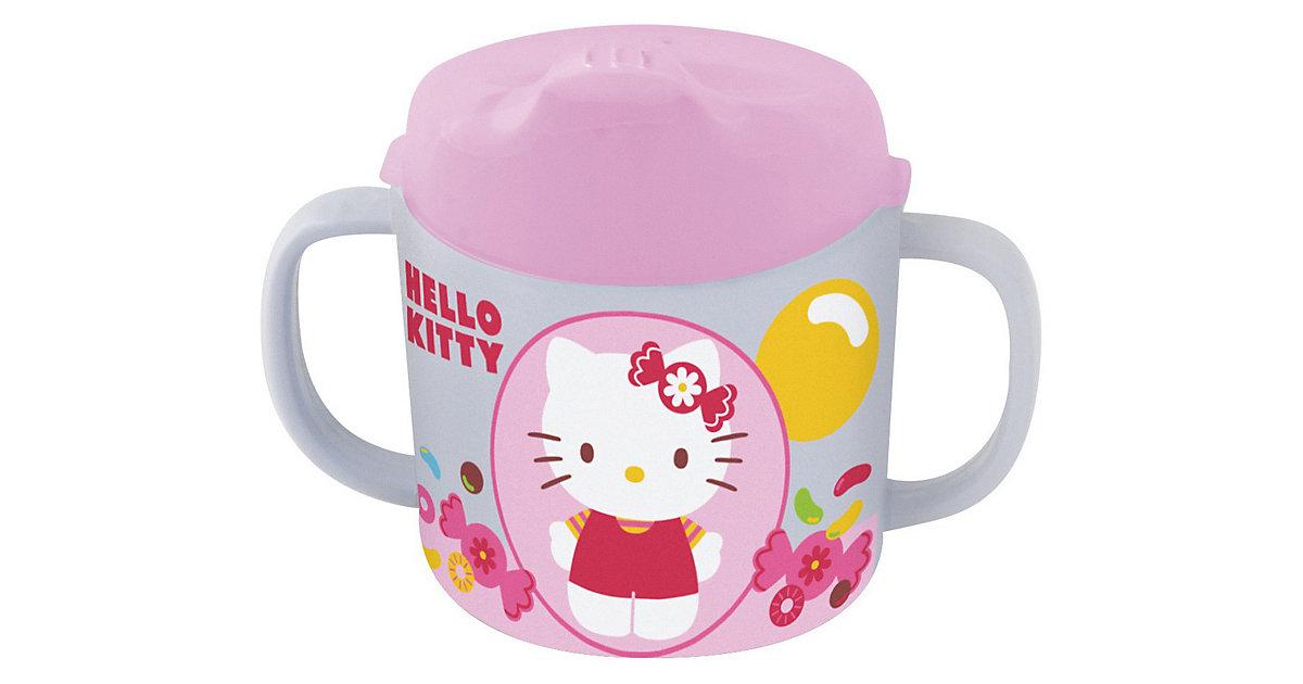 Trinklernbecher Melamin Hello Kitty, 200 ml