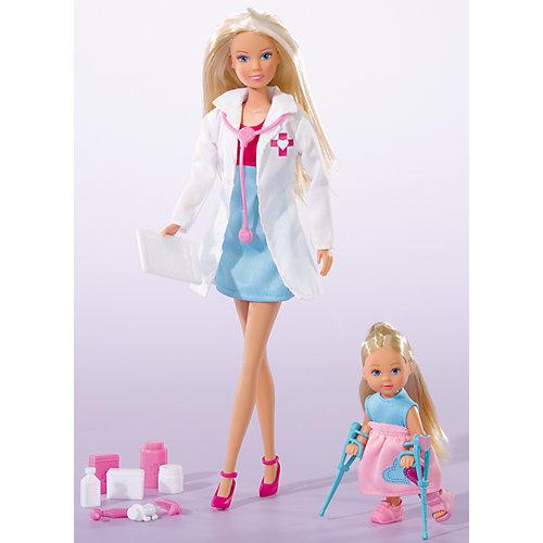 """Кукла """"Штеффи-детский доктор и кукла  Еви"""", Simba от Simba"""