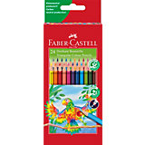 Цветные карандаши Faber-Castell, 24 цвета