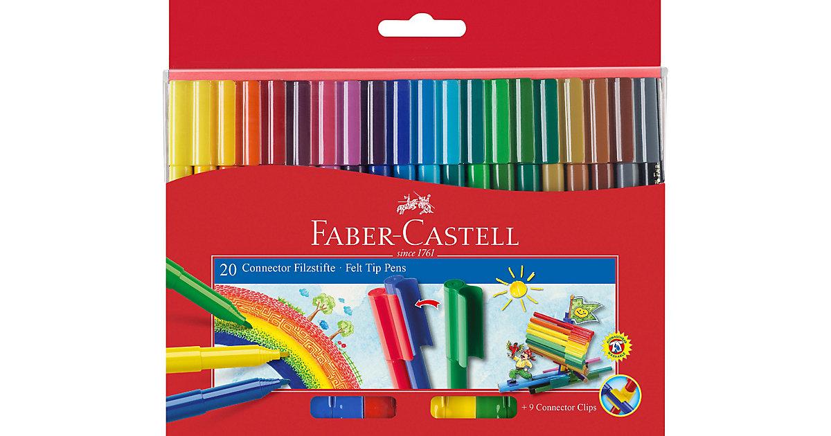 CONNECTOR Pen Filzstifte, 20 Farben