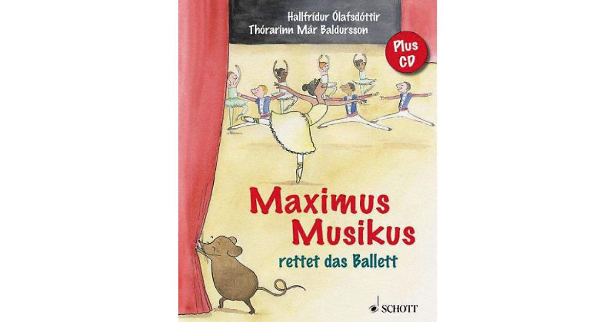 Maximus Musikus rettet das Ballett, mit Audio-CD