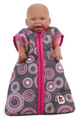 Puppen-Schlafsack Jeans pink Babypuppen & Zubehör