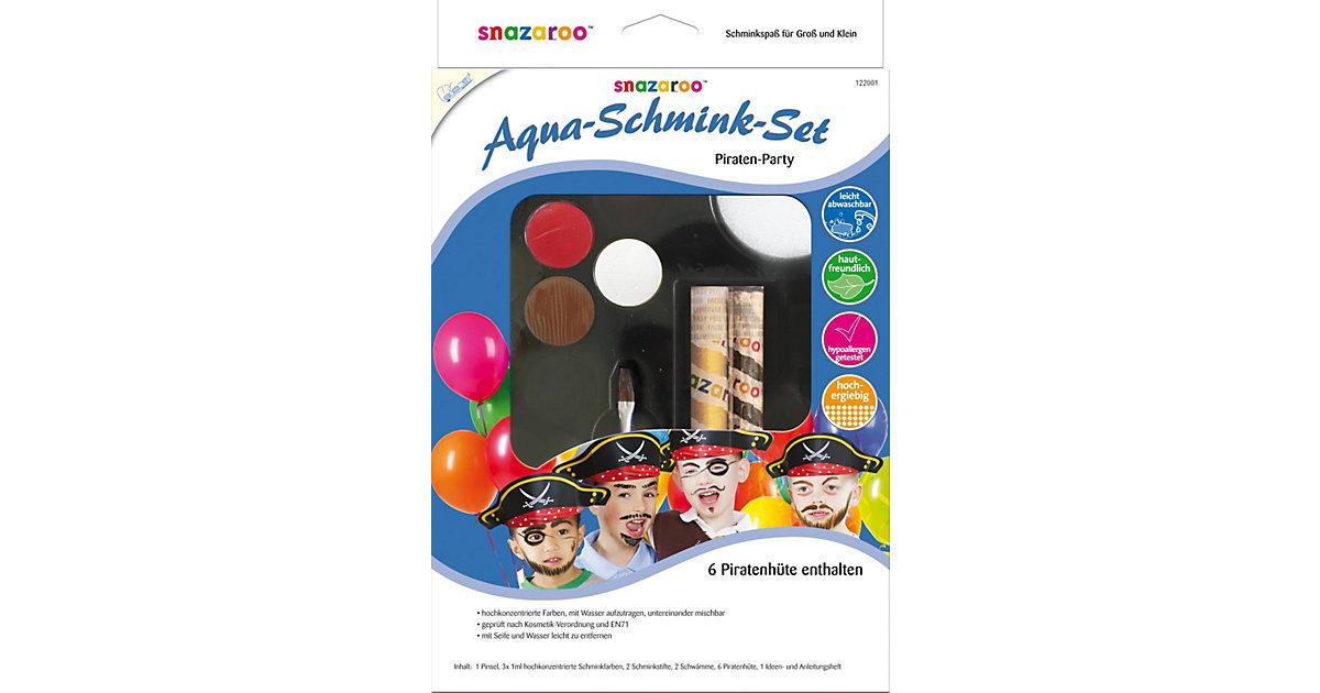 snazaroo Aqua-Schminkset Piraten-Party, 15-tlg....