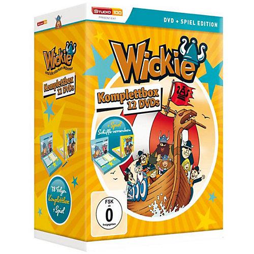 universum DVD Wickie und die starken Männer (Komplettbox +Spiel) Sale Angebote Pinnow-Heideland