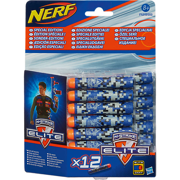 NERF  N-Strike Elite Deko Darts 12er Pack