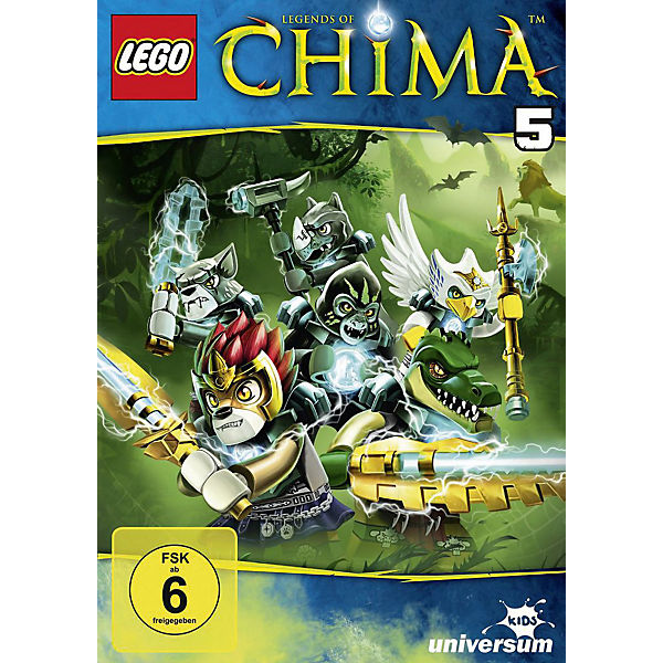 DVD LEGO Legends of Chima 05