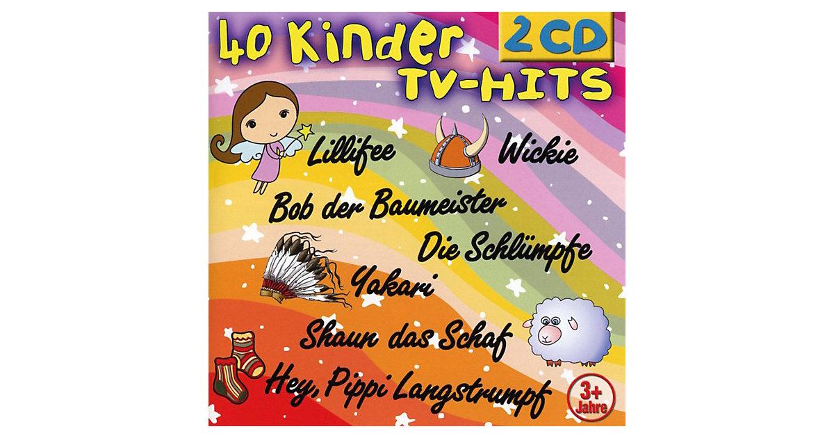 CD 40 Kinder TV-Hits