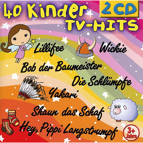 CD 40 Kinder TV-Hits