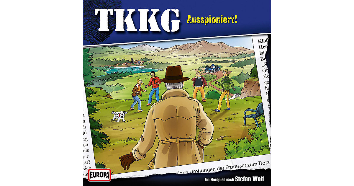 CD TKKG 187 - Ausspioniert