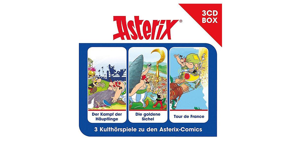 CD Asterix - 3er  Hörspielbox 02 Hörbuch