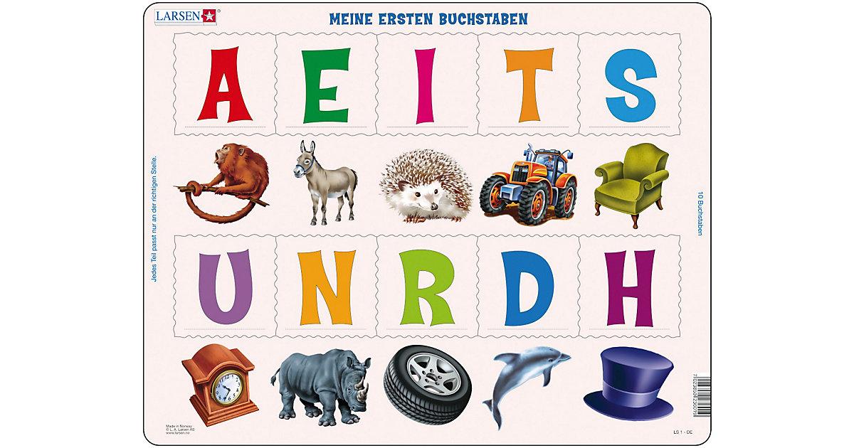 Rahmenpuzzle 10 Teile Meine ersten Buchstaben