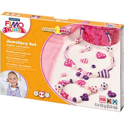 FIMO kids Create & Play Schmuck-Kreativset Herzen