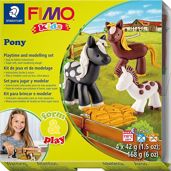 FIMO kids Form & Play Pony, Staedtler