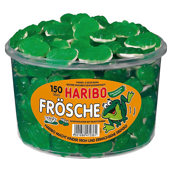 HARIBO Frösche, Dose mit 150 St., Haribo