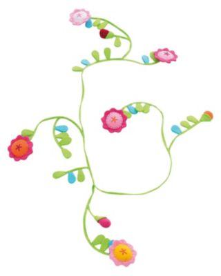 HABA 8140 Stoffgirlande Blumenlaube, 180 cm grün
