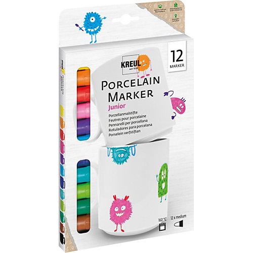 Griesen Angebote C. KREUL Hobby Line Porzellanmalstifte Porcelain Pen easy for Kids, 12 Farben