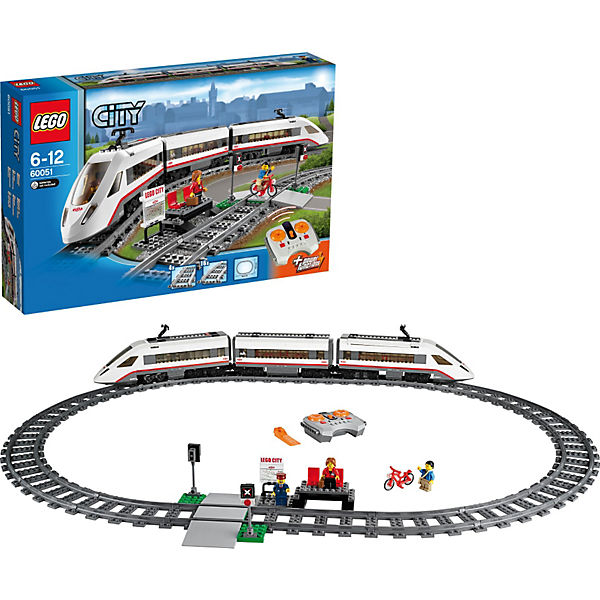 Lego city hochgeschwindigkeitszug mytoys