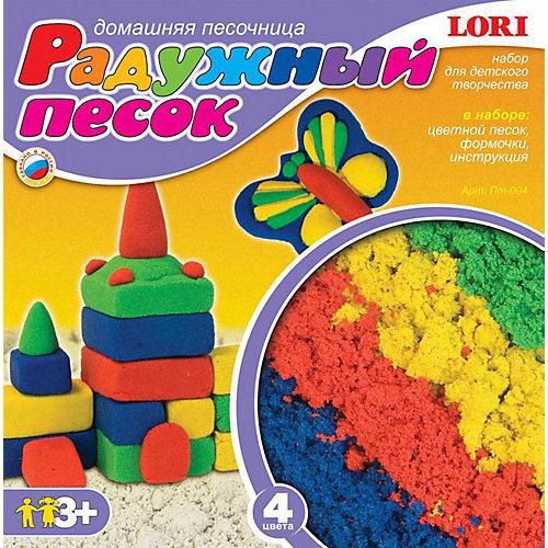 "Набор ""Радужный песок"" из 4 цветов, LORI от LORI"