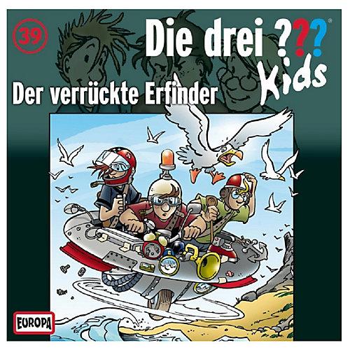 Die Drei ??? Kids - drei 39: Der verrückte Erfinder (CD) jetztbilligerkaufen