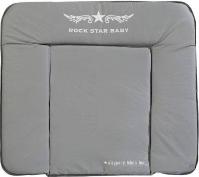 Roba Wickelauflage Little Stars 85 x 75 cm PU-beschichtet Rückseite weiß