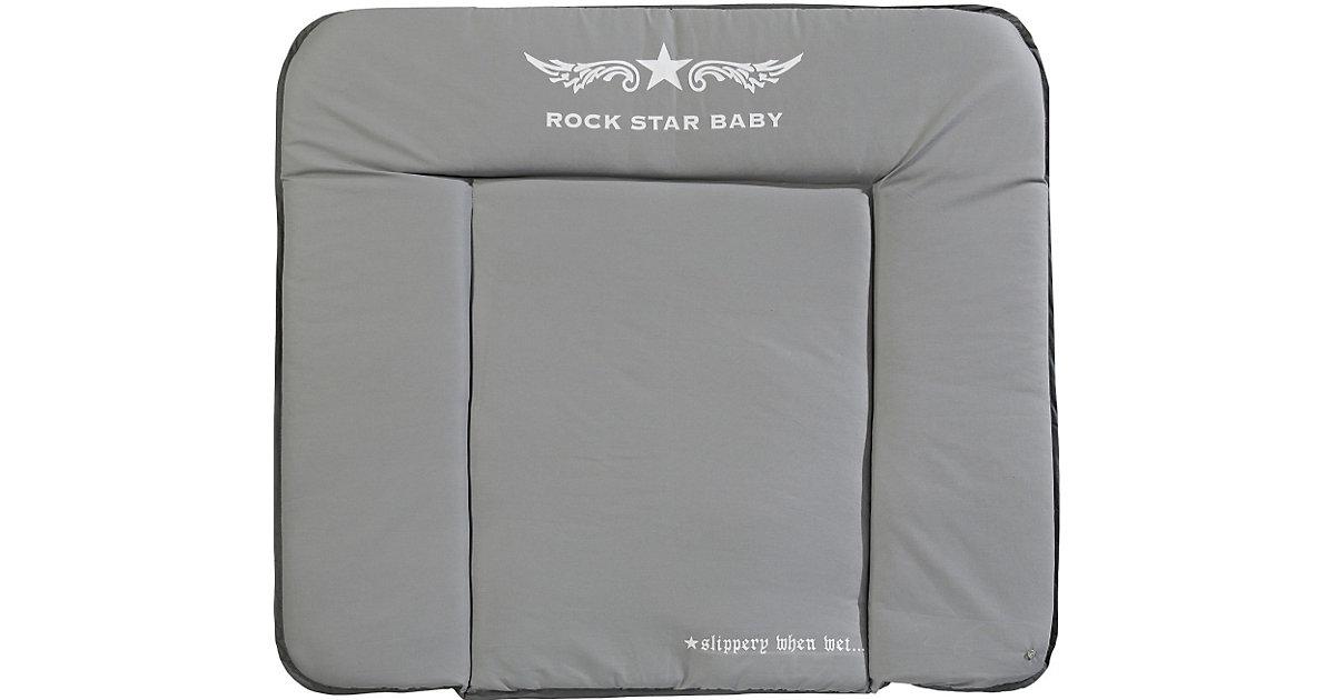 roba · Wickelauflage Soft, Rockstar Baby 2, 85 x 75 cm