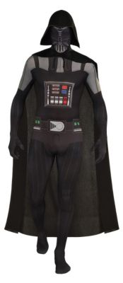 2nd Skin Darth Vader (Erw.) Gr. 48/50 Jungen Kinder