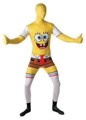 2nd Skin Sponge Bob (Erw.) Gr. 52/54 Jungen Kinder