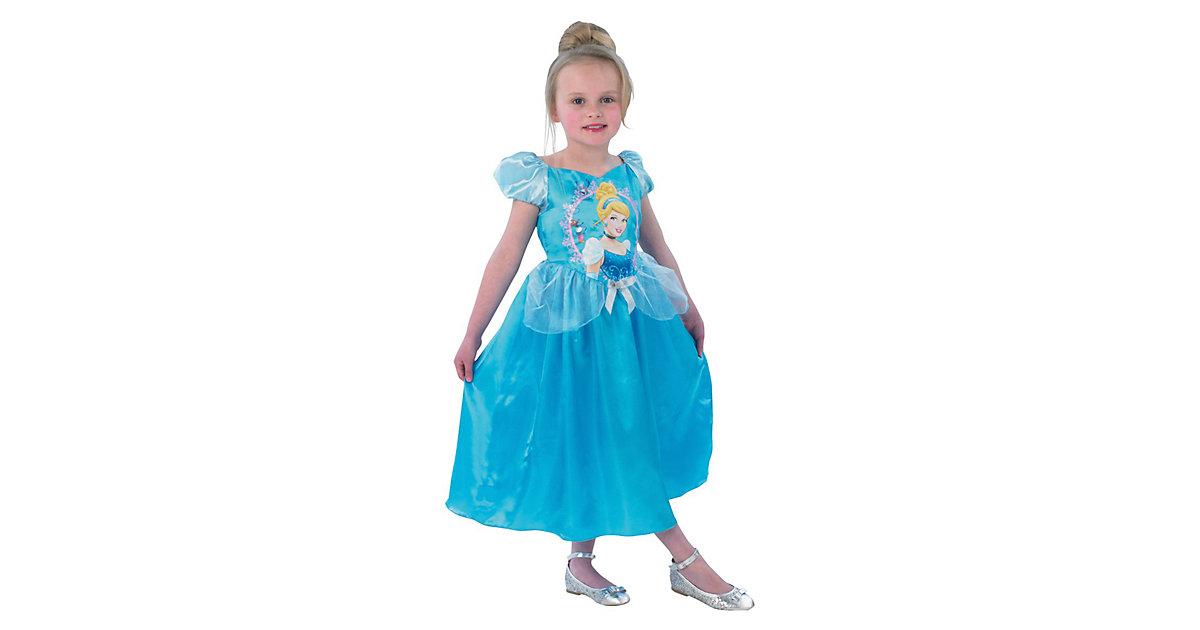 Kostüm Cinderella Storytime blau Gr. 110/116 Mädchen Kinder