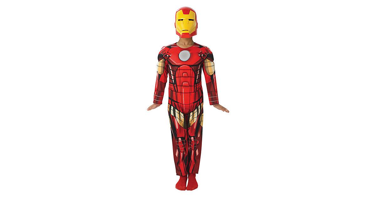 Kostüm Iron Man Deluxe Gr. 104 Jungen Kleinkinder