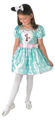 Kostüm Minnie Mouse Mint Cupcake Gr. 104/110 Mädchen Kleinkinder
