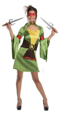 Kostüm TMNT Lady Raphael (Erw.) Gr. 34/36 Mädchen Kinder