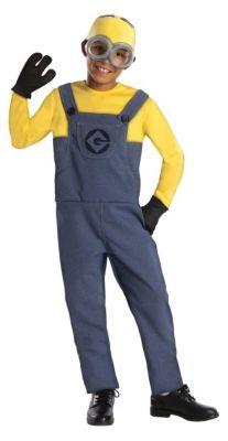 Kostüm Minion Dave Overall Gr. 104/110 Jungen Kleinkinder