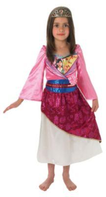 Kostüm Mulan Shimmer M (5-7J) mehrfarbig Gr. 110/122 Mädchen Kinder